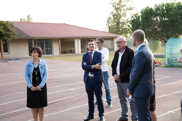 Visite du recteur dans le Gers, 17 sept. 2019