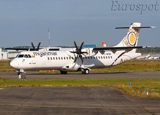 F-WTBY ATR72 Myanmar