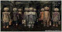 Serenity Style-Eizen Primitive Halloween Dolls