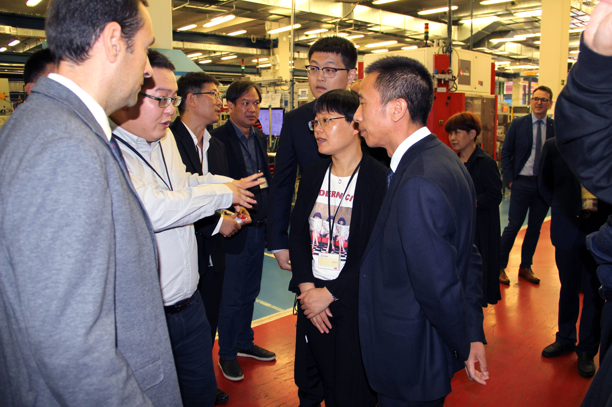 Chinese Zhejiang Gas Association visits Copreci