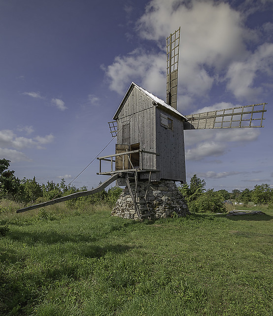 Ennu windmill buildt 1924