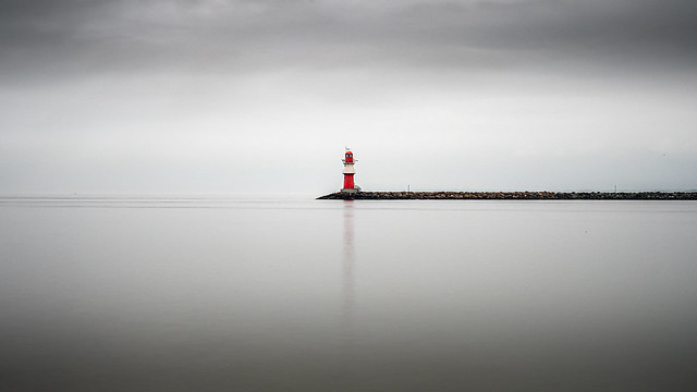 Ostmole - Warnemünde, Germany - Seascape photography