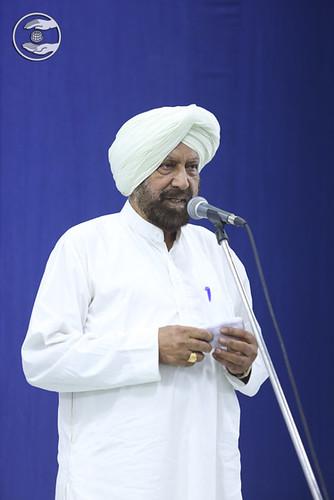 Dalvir Singh presented speech, Delhi