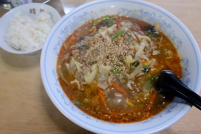 タンタン麺・ライス付き(750円...