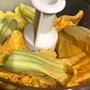 #zucchini #blossom #flowers #pistachio #pesto  #Homemade #Food #CucinaDelloZio -