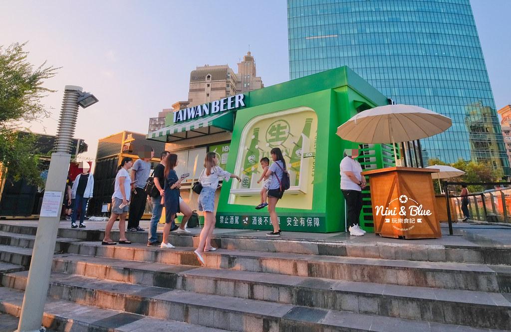 18天生啤酒快閃店台中站.台中草悟道01
