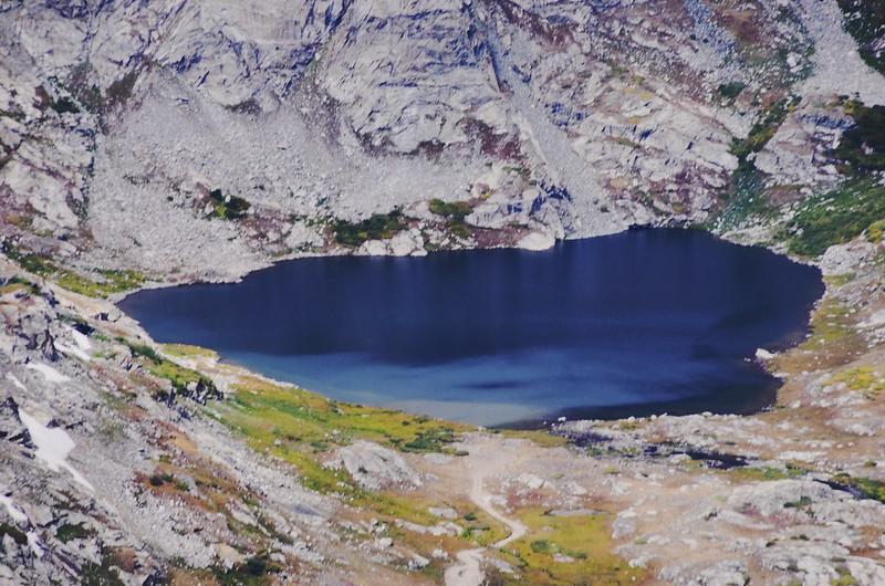 Looking down Wheeler Lake from Mount Cameron's southwest ridge  (2)