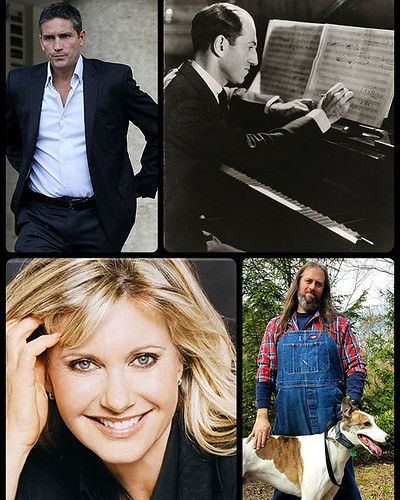 Happy birthday to Jim Caviezel, George Gershwin, Olivia Newton John, and MEEEEE! (Buy my books!) #happybirthdaytome