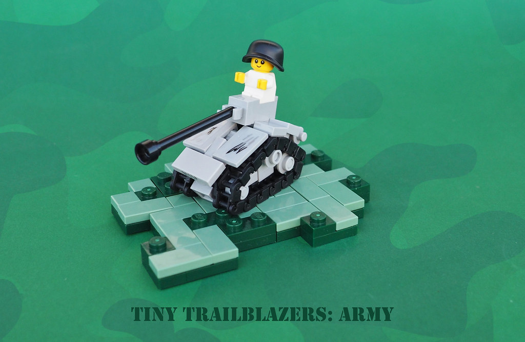 Tiny Trailblazers: Army