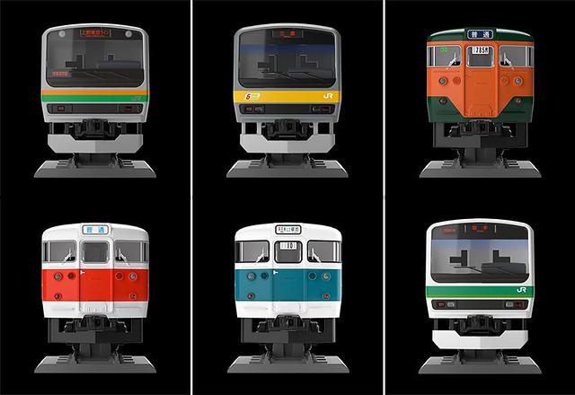 與電車正面的近距離接觸!TOMYTEC 列車標本系列「鐵顏」(鉄顔コレクション)