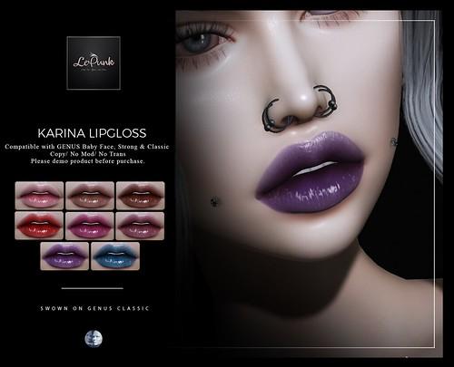 -Lepunk- Karina Lipgloss +GENUS+ Group Gift