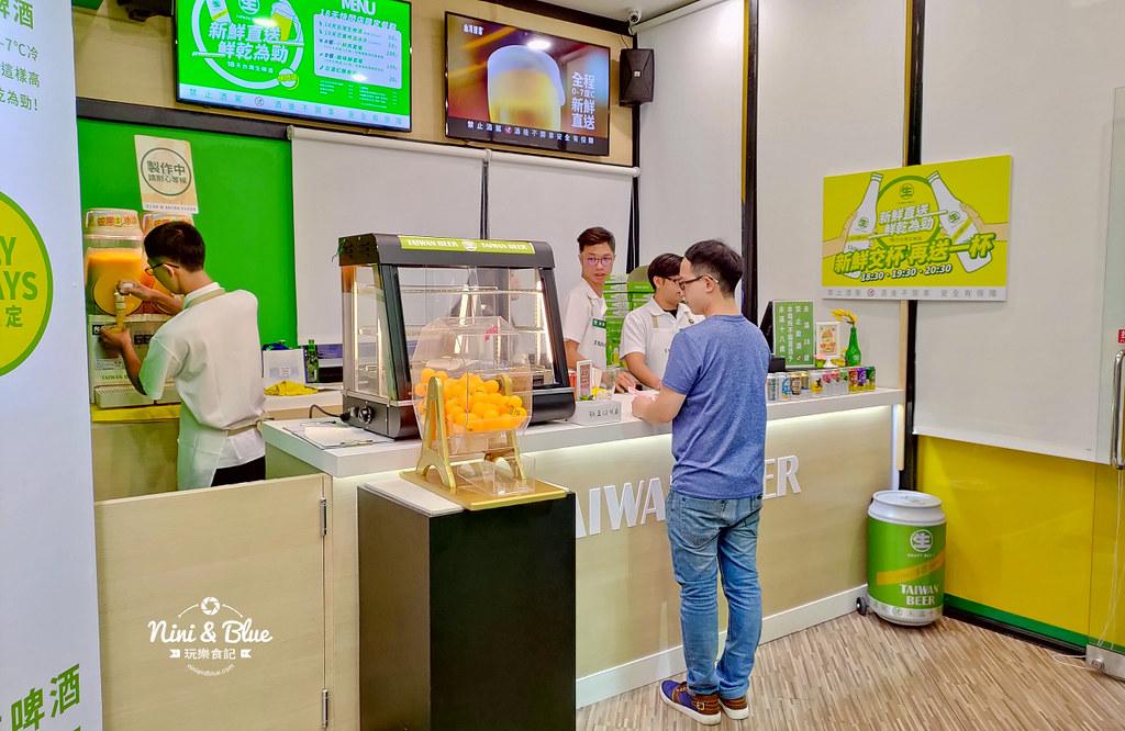 18天生啤酒快閃店台中站.台中草悟道19