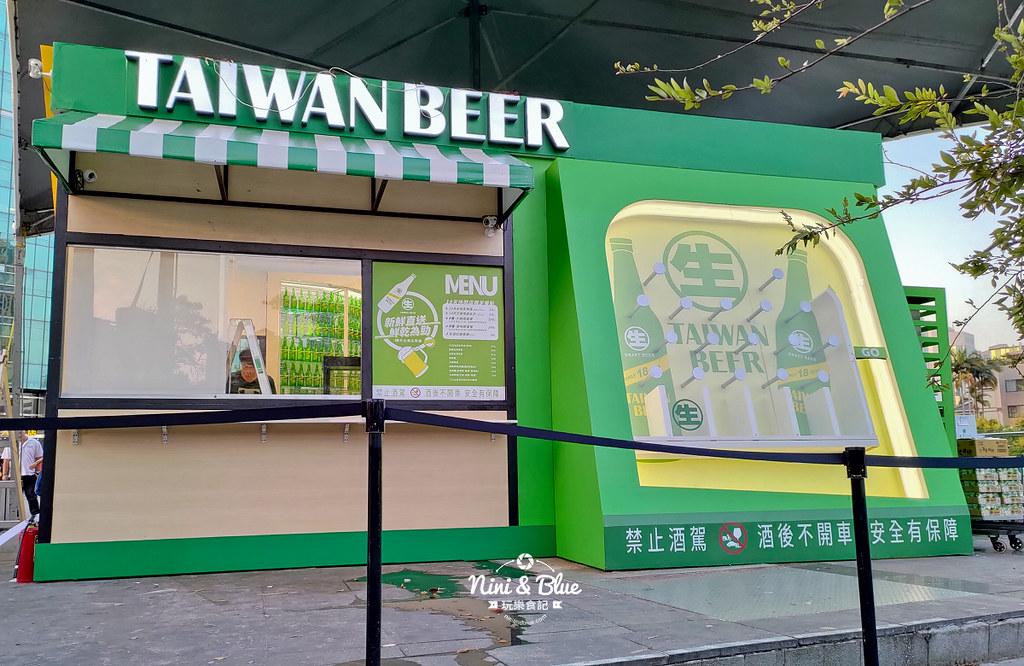 18天生啤酒快閃店台中站.台中草悟道15