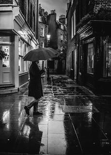A rainy ☔ morning in London