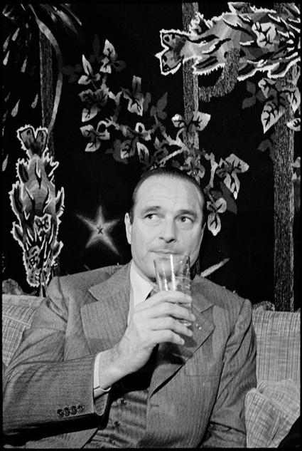 Martine Franck Retrato de Chirac en 1975 Uti 425