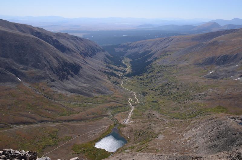 Looking down at Kite Lake from Kite Lake viewpoint (4)