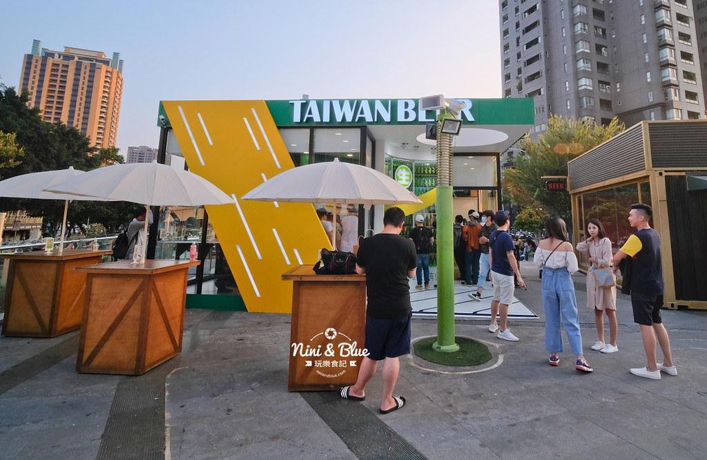 18天生啤酒快閃店台中站.台中草悟道05