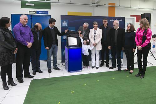 Inauguração Novas Instalações Unidade Sistema Fiep no Portão