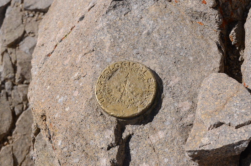 Mount Lincoln's summit benchmark (1)