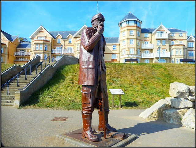 The Filey Fisherman Statue ..