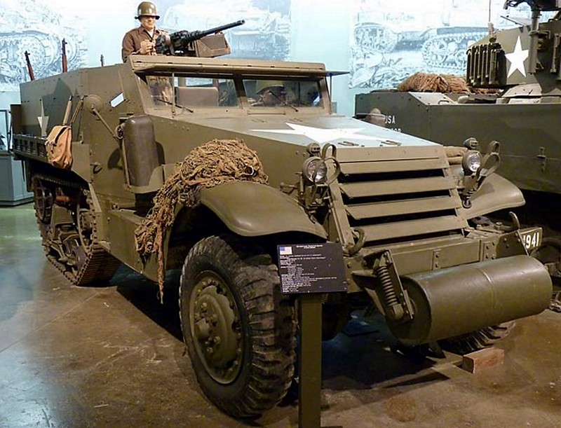 M3 White Halftrack 1