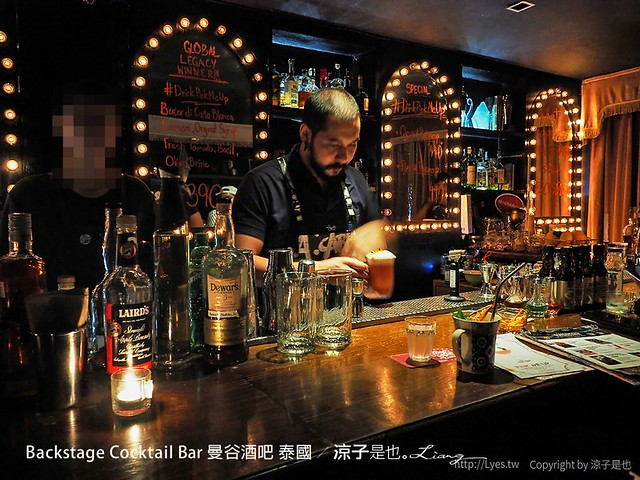 backstage cocktail bar 曼谷酒吧 泰國