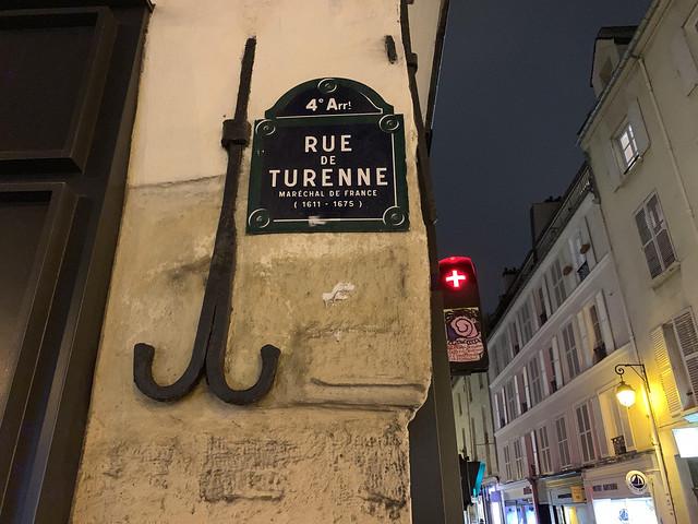 Rue de Turenne in Paris