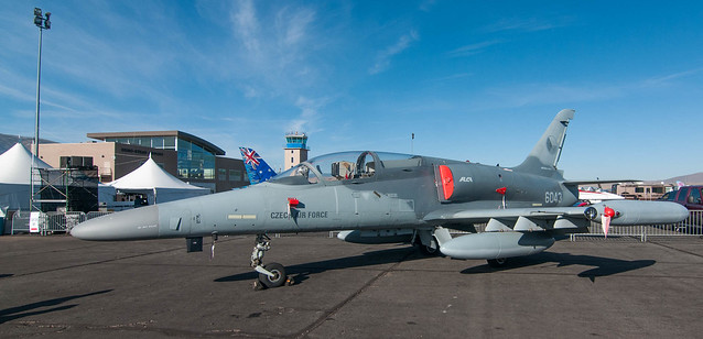 L-39 in Czech AF colors