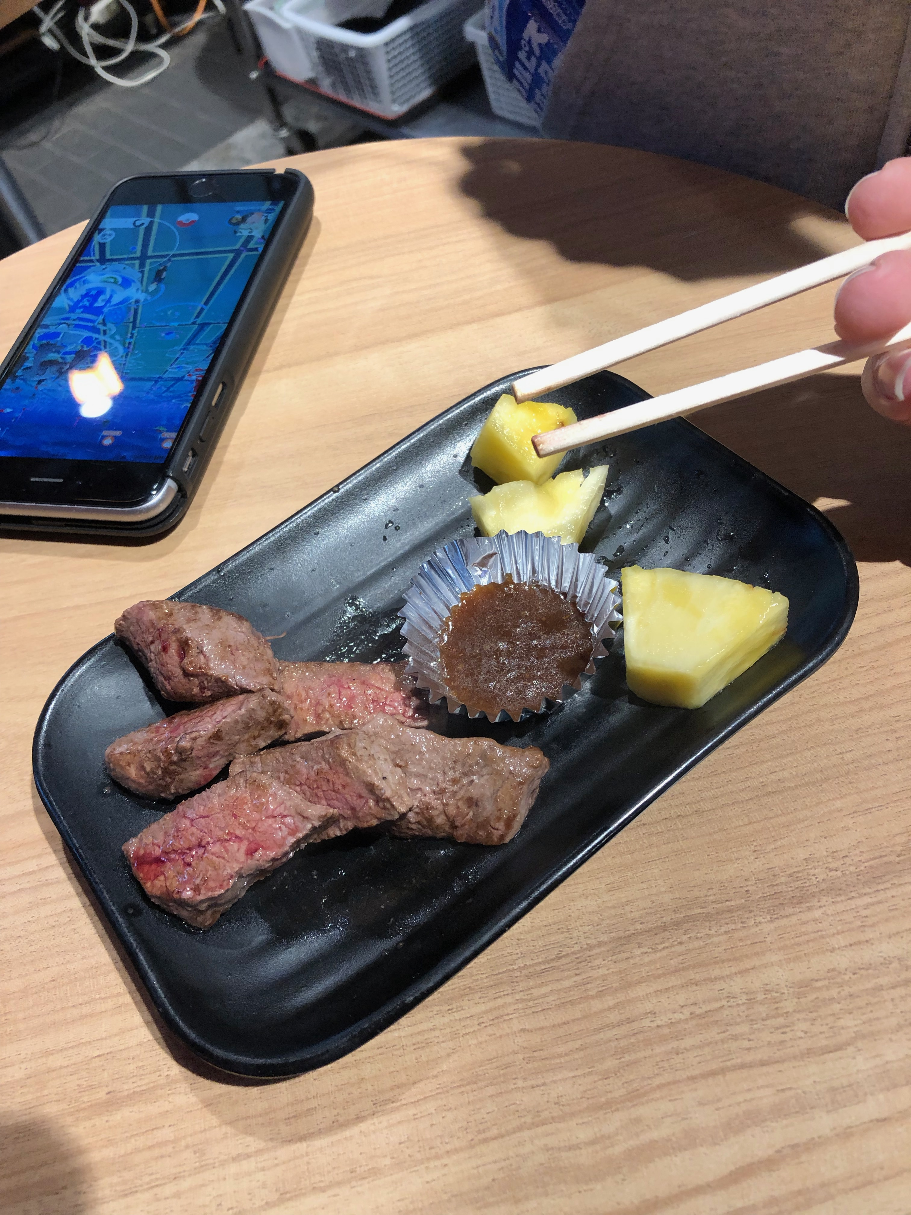osaka food - kobe beef
