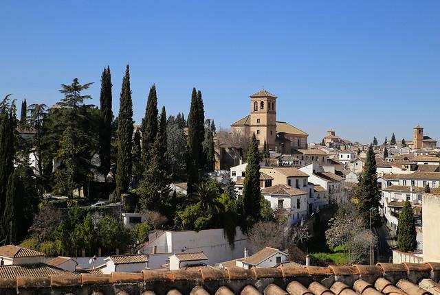 Parroquia del Salvador on top of Albaicín neighbourhoud