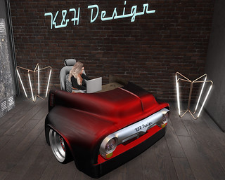 K&H Design HOT ROD Desk (Advanced Lighting) 2