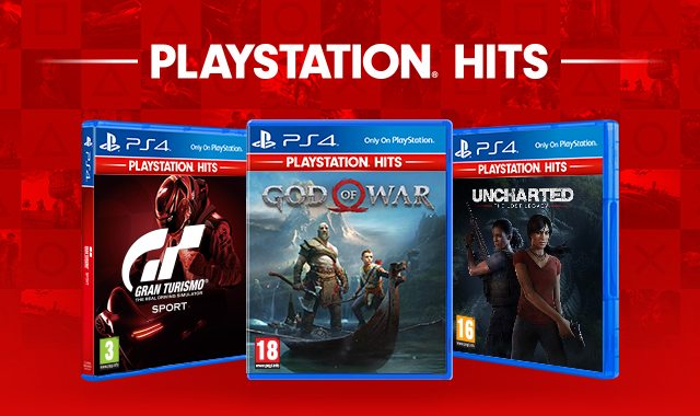 PlayStation Hits on PS4