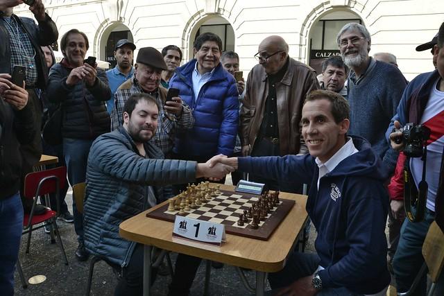 #EnTerreno : Campeonato de Ajedrez en Plaza de Armas
