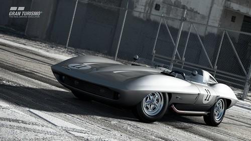 Chevrolet Corvette Stingray Racer Concept '59 (Gr.X)