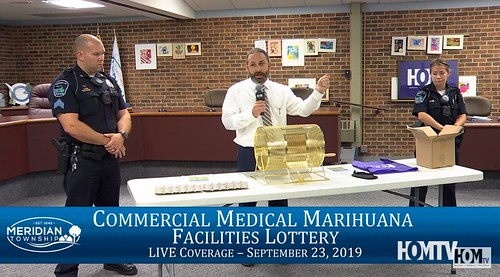 Commercial Medical Marihuana Facilities Lottery Live Coverage