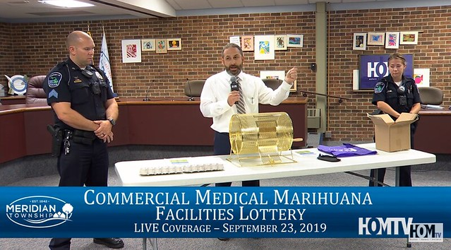 Commercial Medical Marihuana Facilities Lottery in Meridian Township