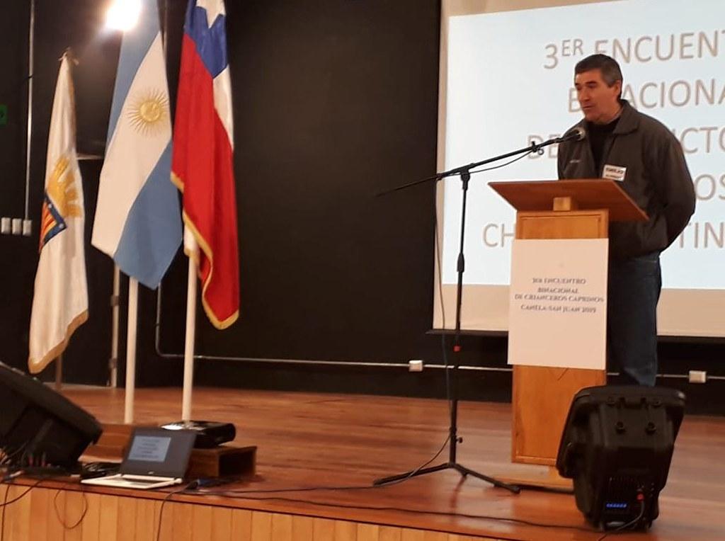 2019-09-26 PRODUCCIÓN: Productores caprinos están de visita técnica en Chile
