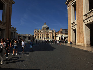 St.Peters Square & the Basilica