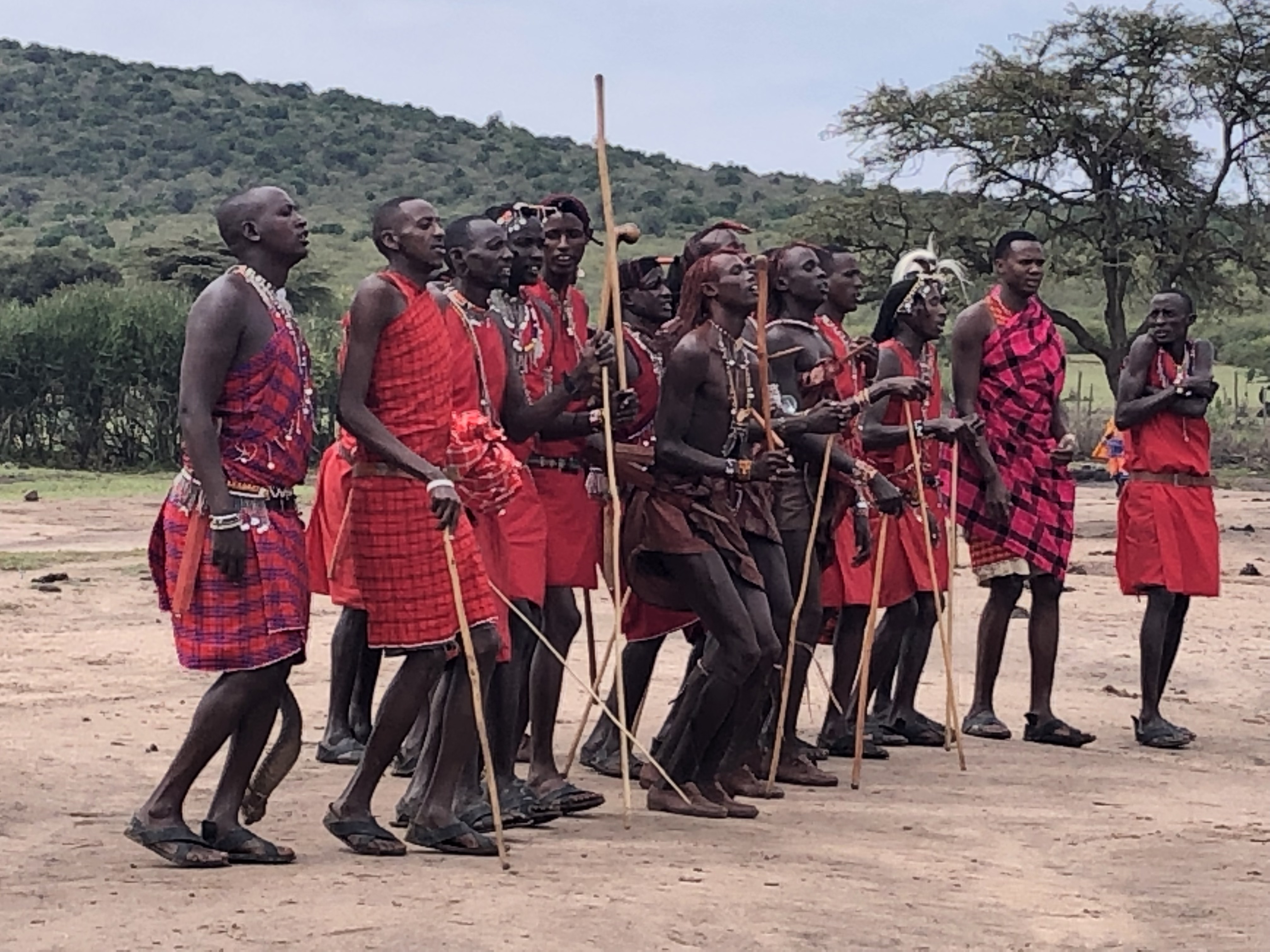Maasai Mara village