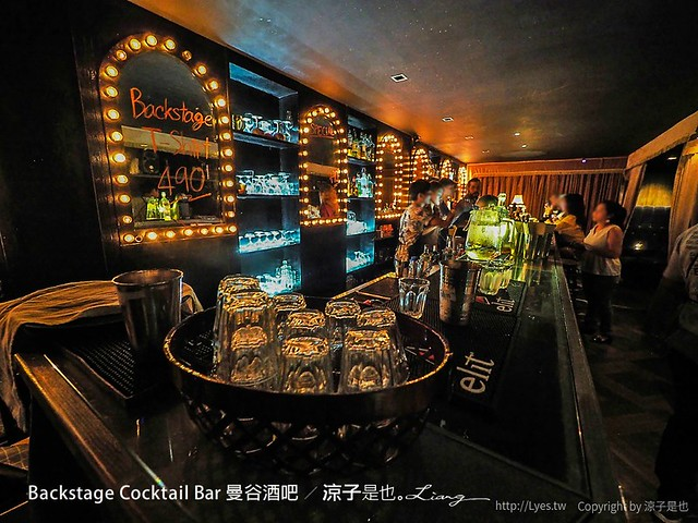 backstage cocktail bar 曼谷酒吧