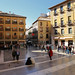 The cozy Plaza de las Pasiegas next to the Cathedral of Granada