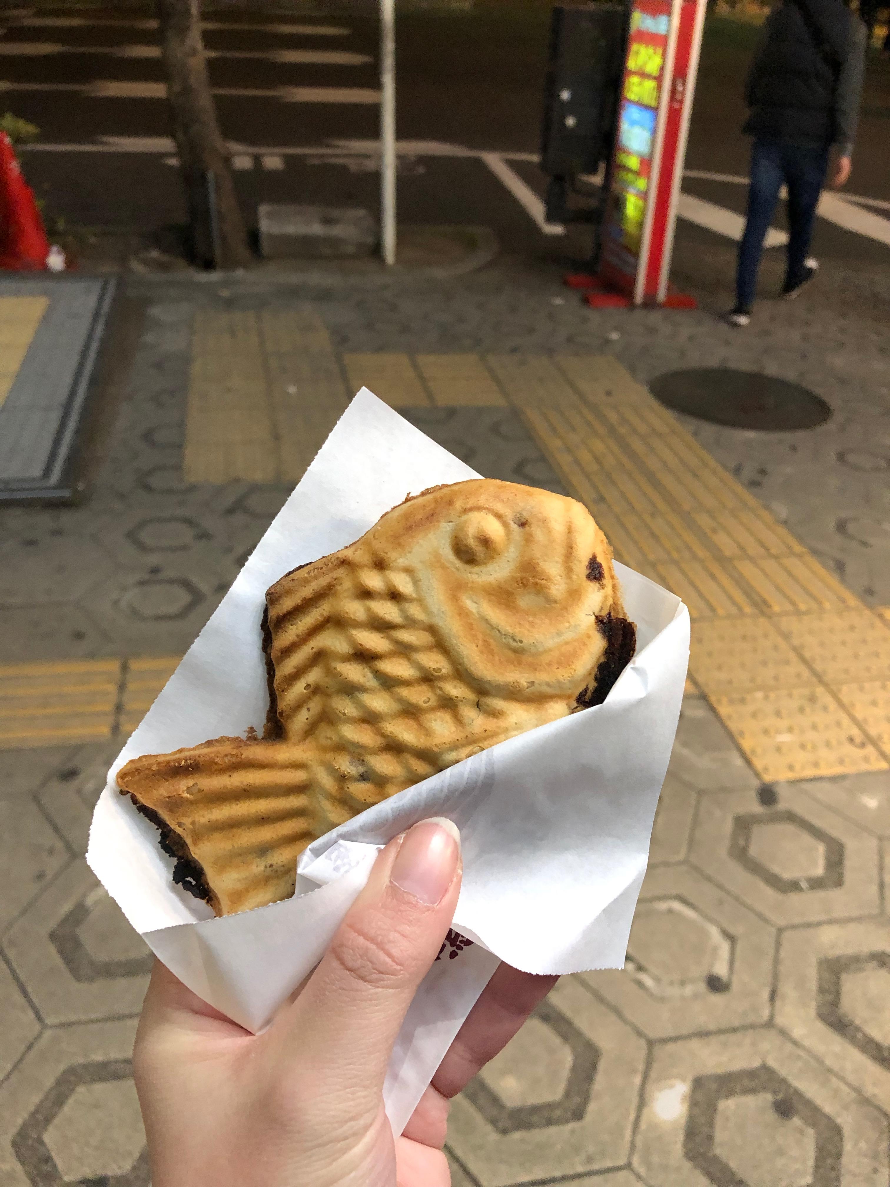 osaka food - taiyaki