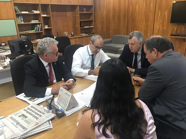 26/09/2019 Reunião Ministério da Agricultura - Dívida Arroz