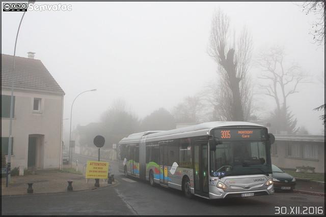 Heuliez Bus GX 437 Hybride – Cars Lacroix / STIF (Syndicat des Transports d'Île-de-France) – Le Parisis n°1051