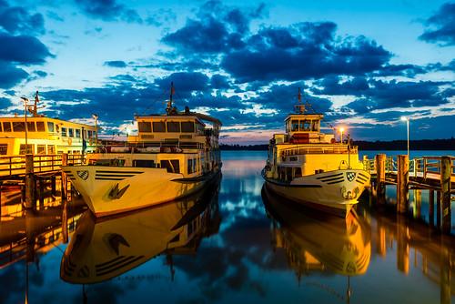 chiemsee lake boats sunrise elitegalleryaoi bestcapturesaoi aoi
