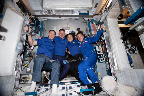 Four NASA astronauts and members of the Astronaut Class of 2013