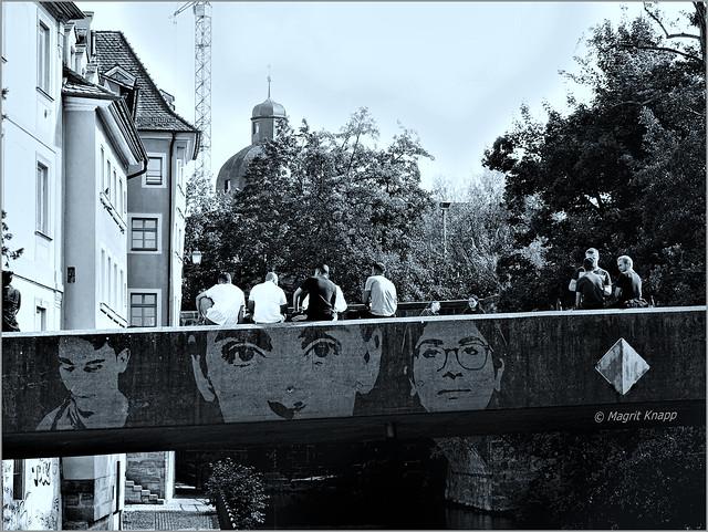 Monocrom Untere Brücke