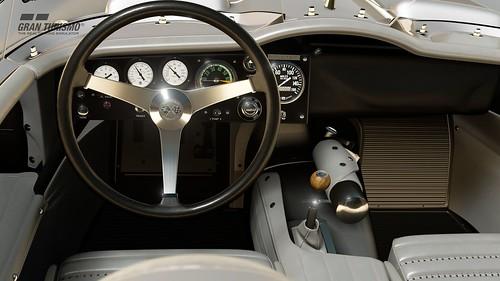 Chevrolet Corvette Stingray Racer Concept '59 (Gr.X) Cockpit