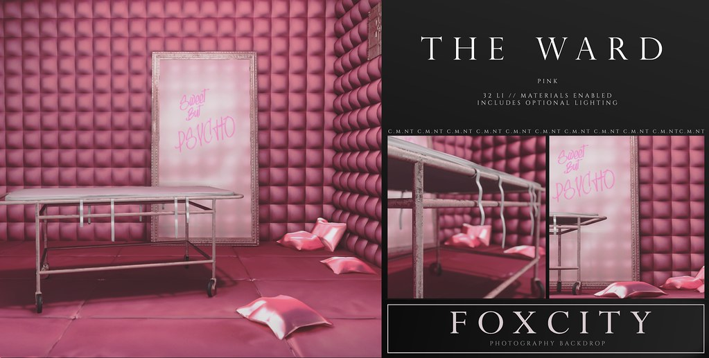 FOXCITY. Photo Booth – The Ward (Pink)