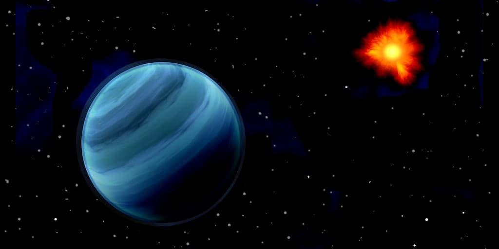 une-énorme-planète-autour-de-son-étoile